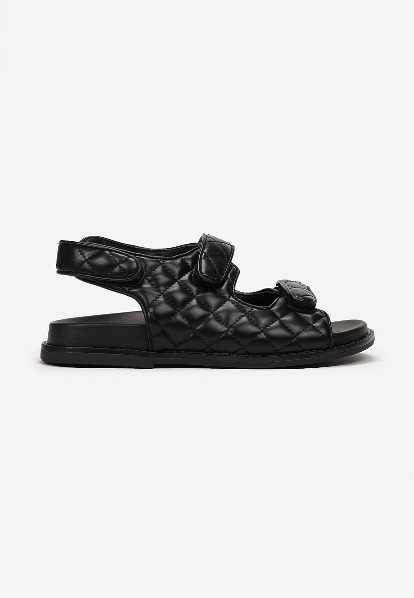Czarne Sandały Zaehania