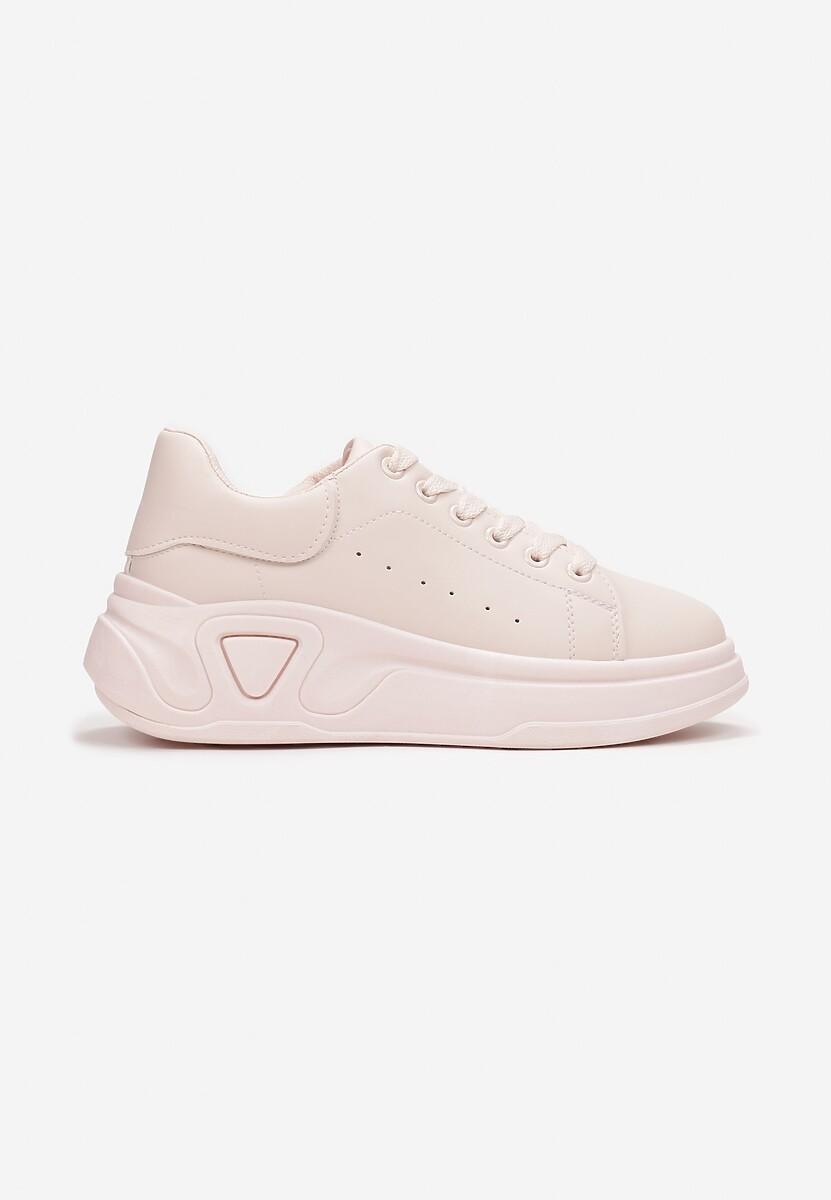 Różowe Sneakersy Sabrisia