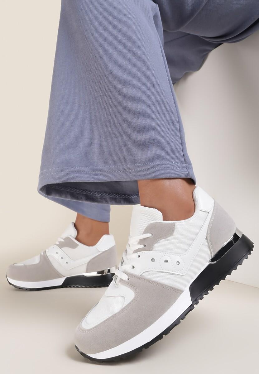 Białe Buty Sportowe Lilsya