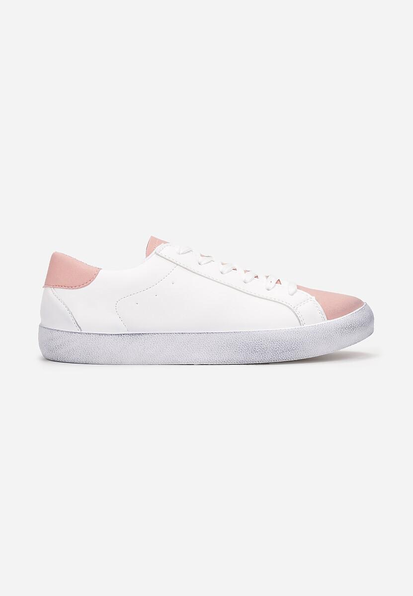 Biało-Różowe Trampki Dova