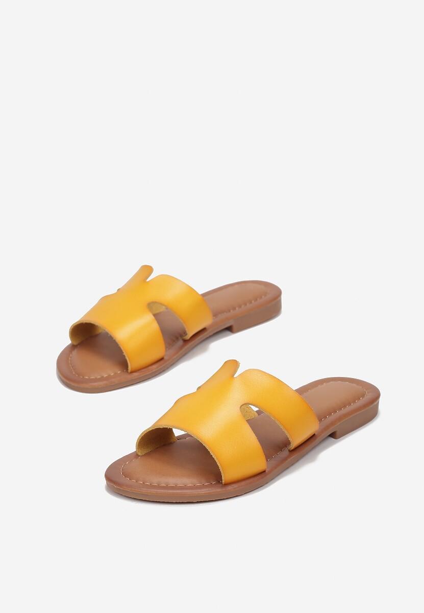 Żółte Klapki Elinlyss