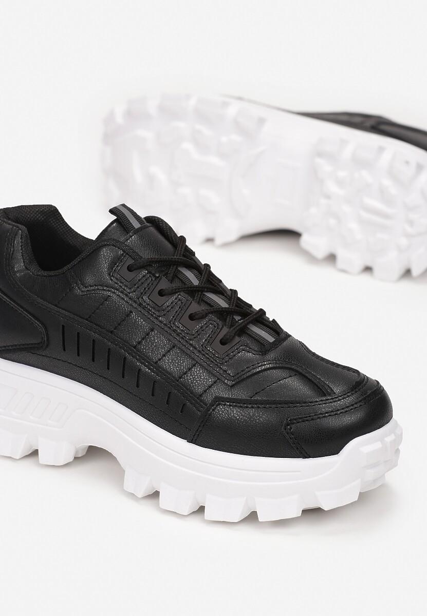 Czarne Sneakersy Anarena