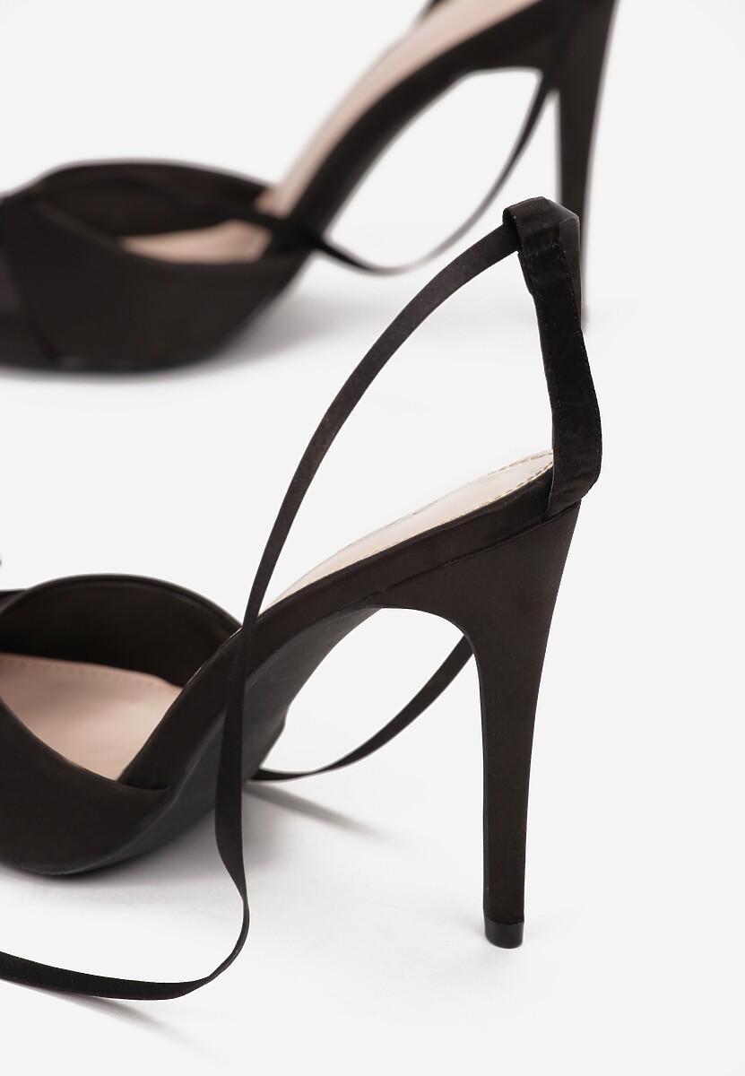 Czarne Sandały Nedalina
