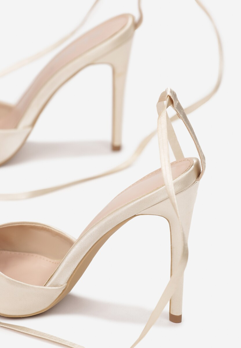 Beżowe Sandały Nedalina
