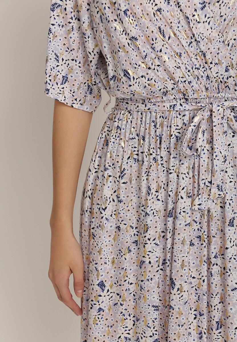 Jasnofioletowa Sukienka Asteonohre