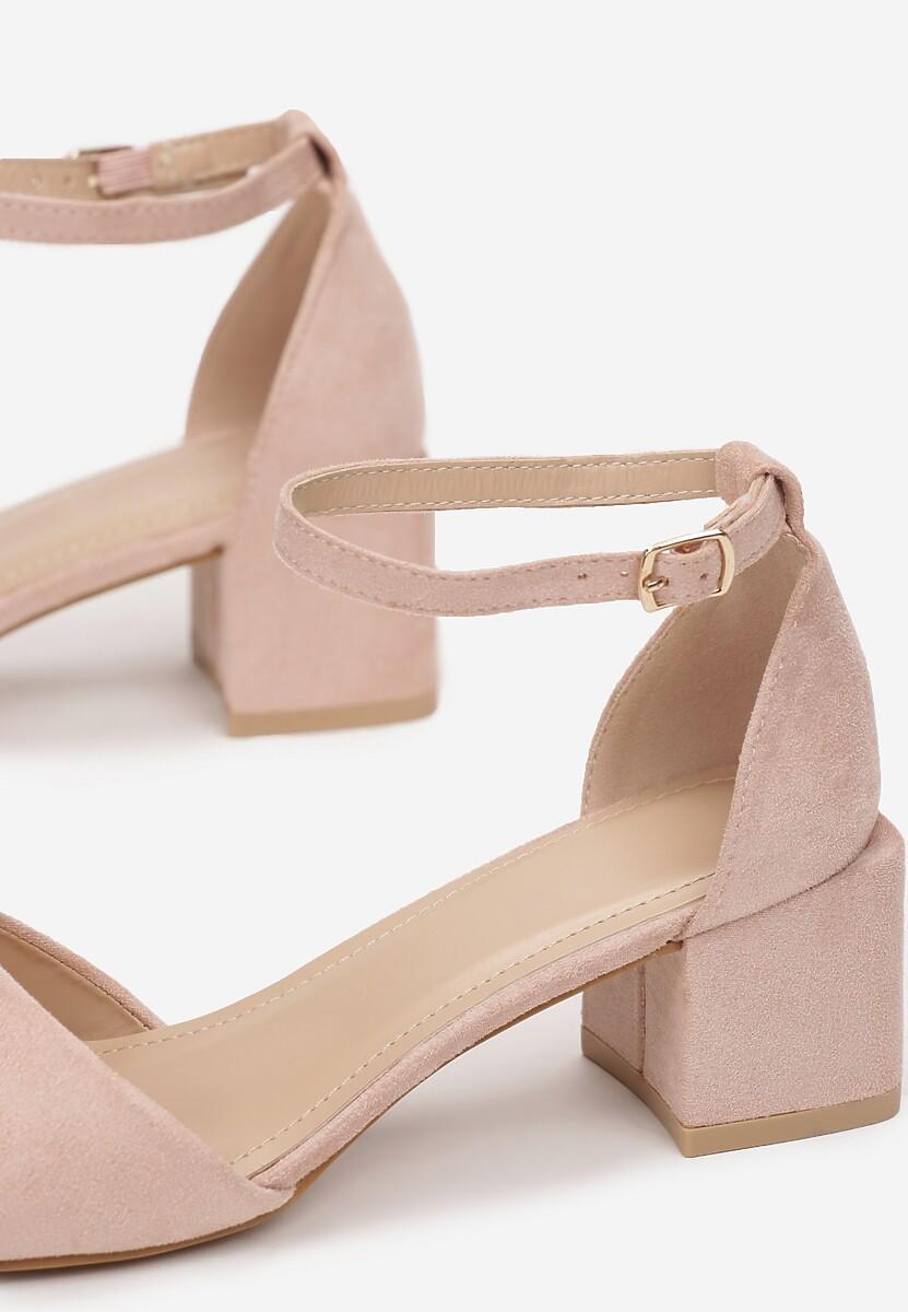 Różowe Sandały Adrasura
