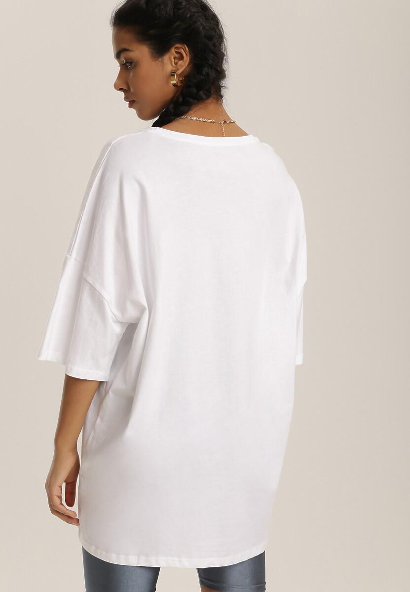 Biały T-shirt Urilaya