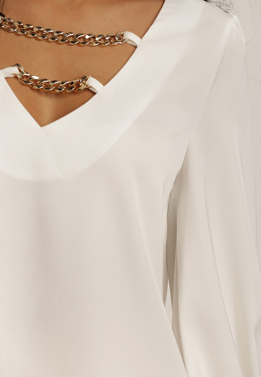 Biała Bluzka Ginorixis