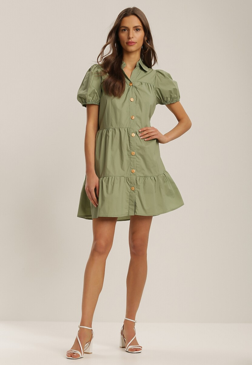 Zielona Sukienka Penielle