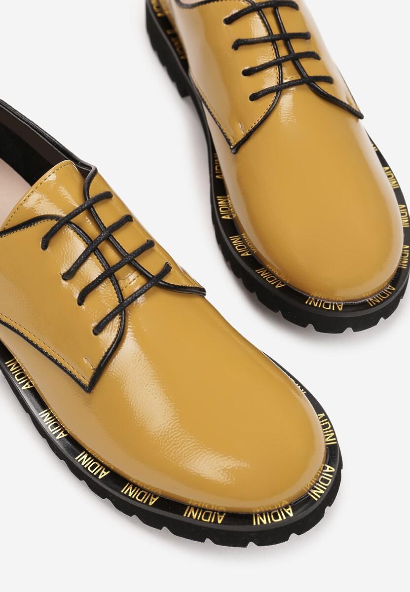 Żółte Półbuty Clanoe