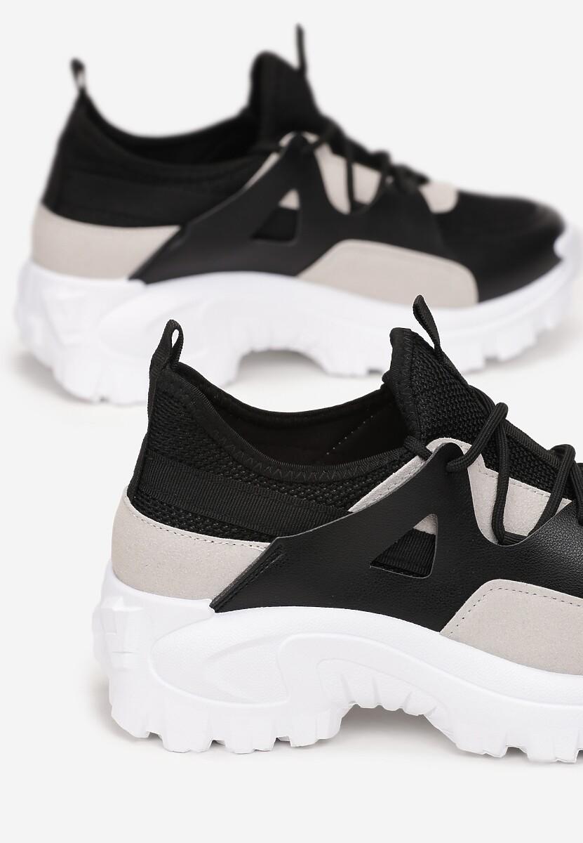 Czarne Sneakersy Allumala