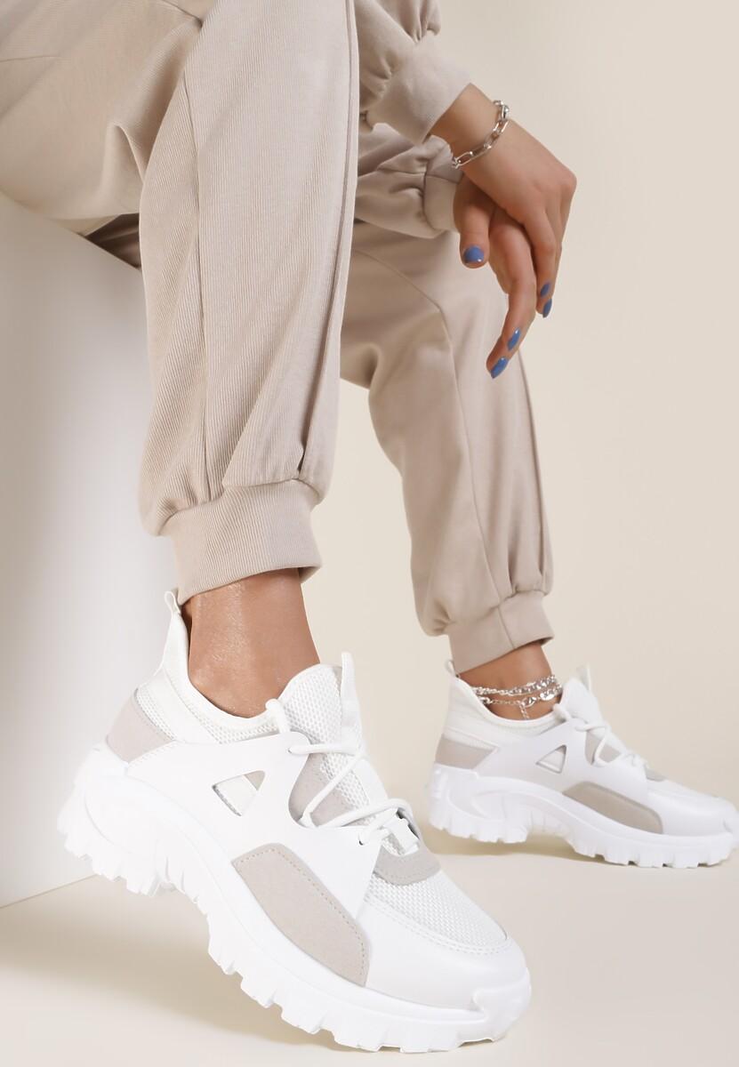 Białe Sneakersy Allumala