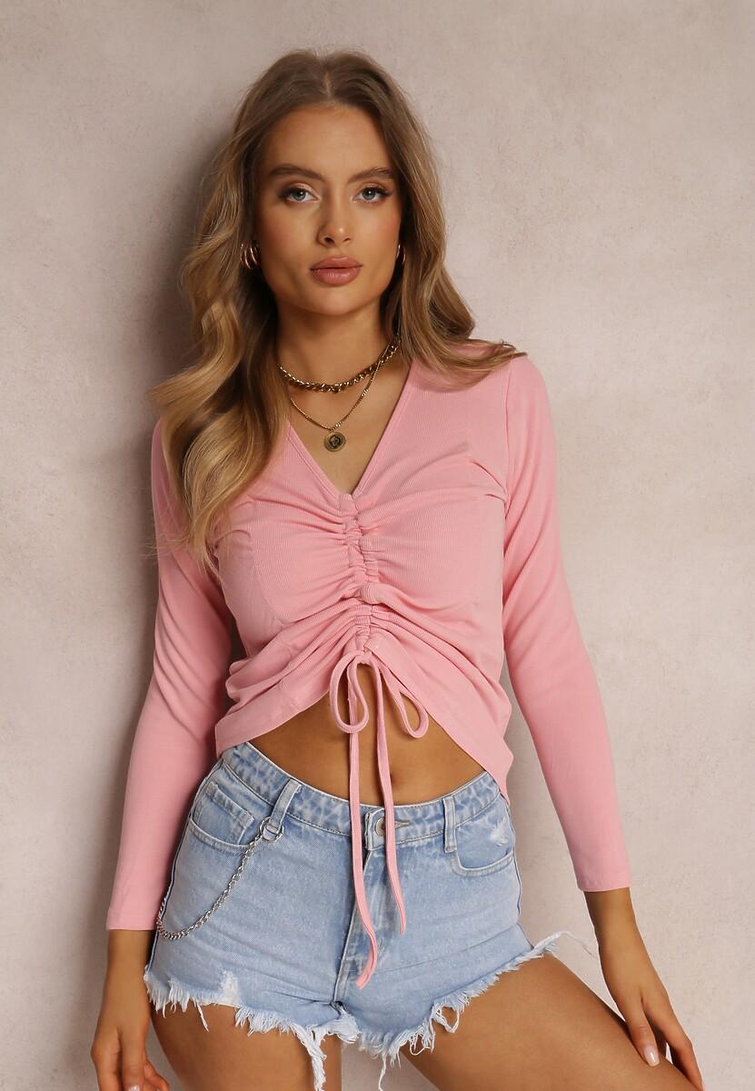 Różowa Bluzka Callimenis
