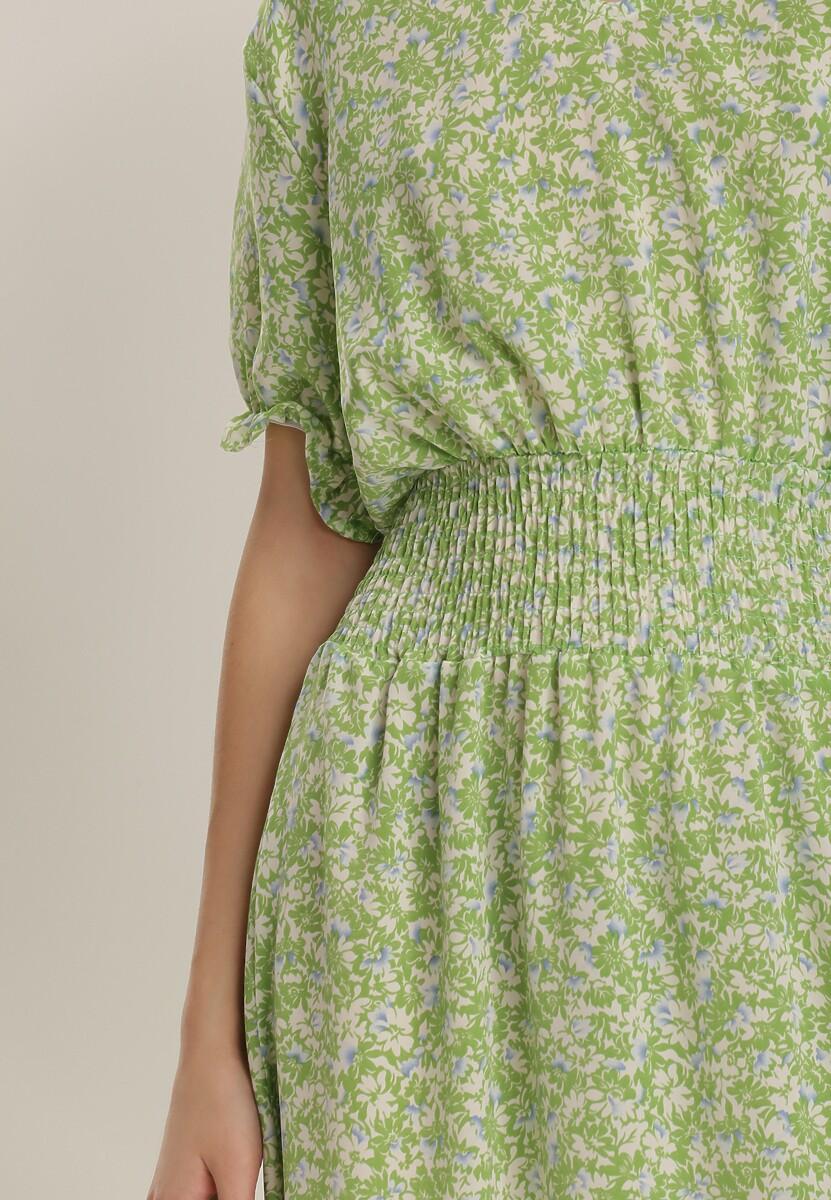 Jasnozielona Sukienka Echinaera