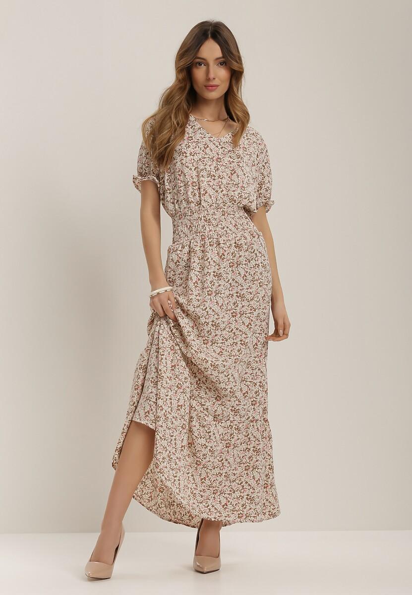 Biała Sukienka Echinaera