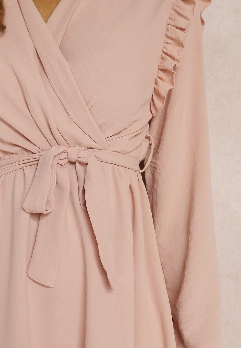 Różowa Sukienka Dalimare