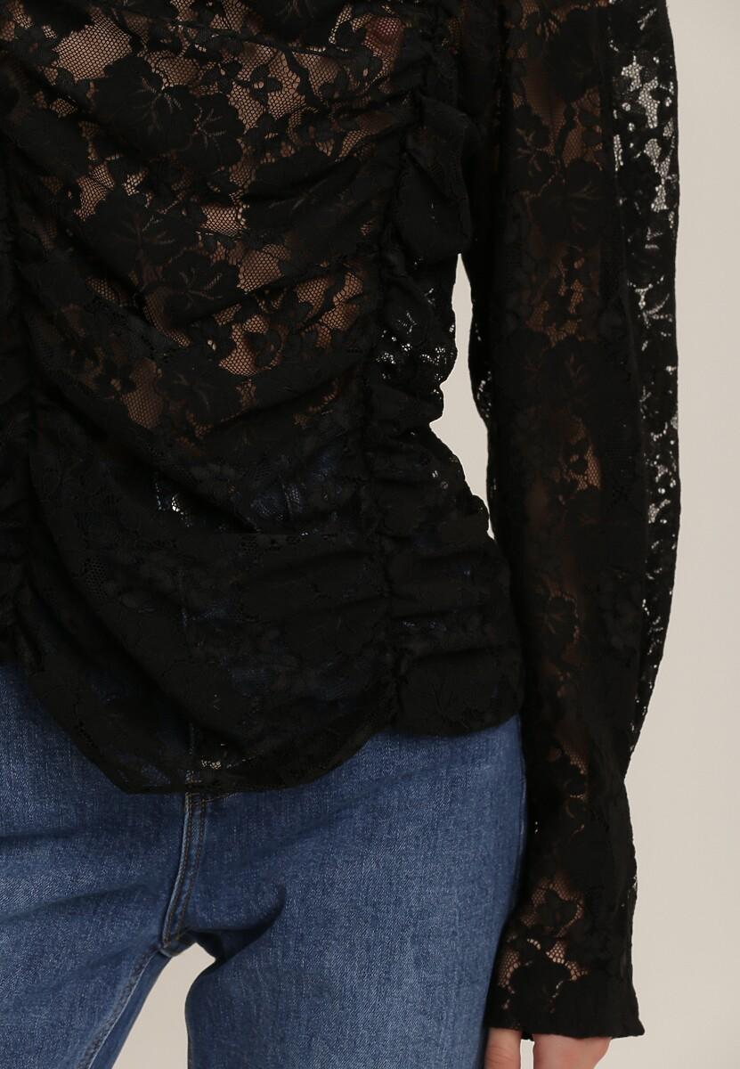 Czarna Bluzka Nixusa