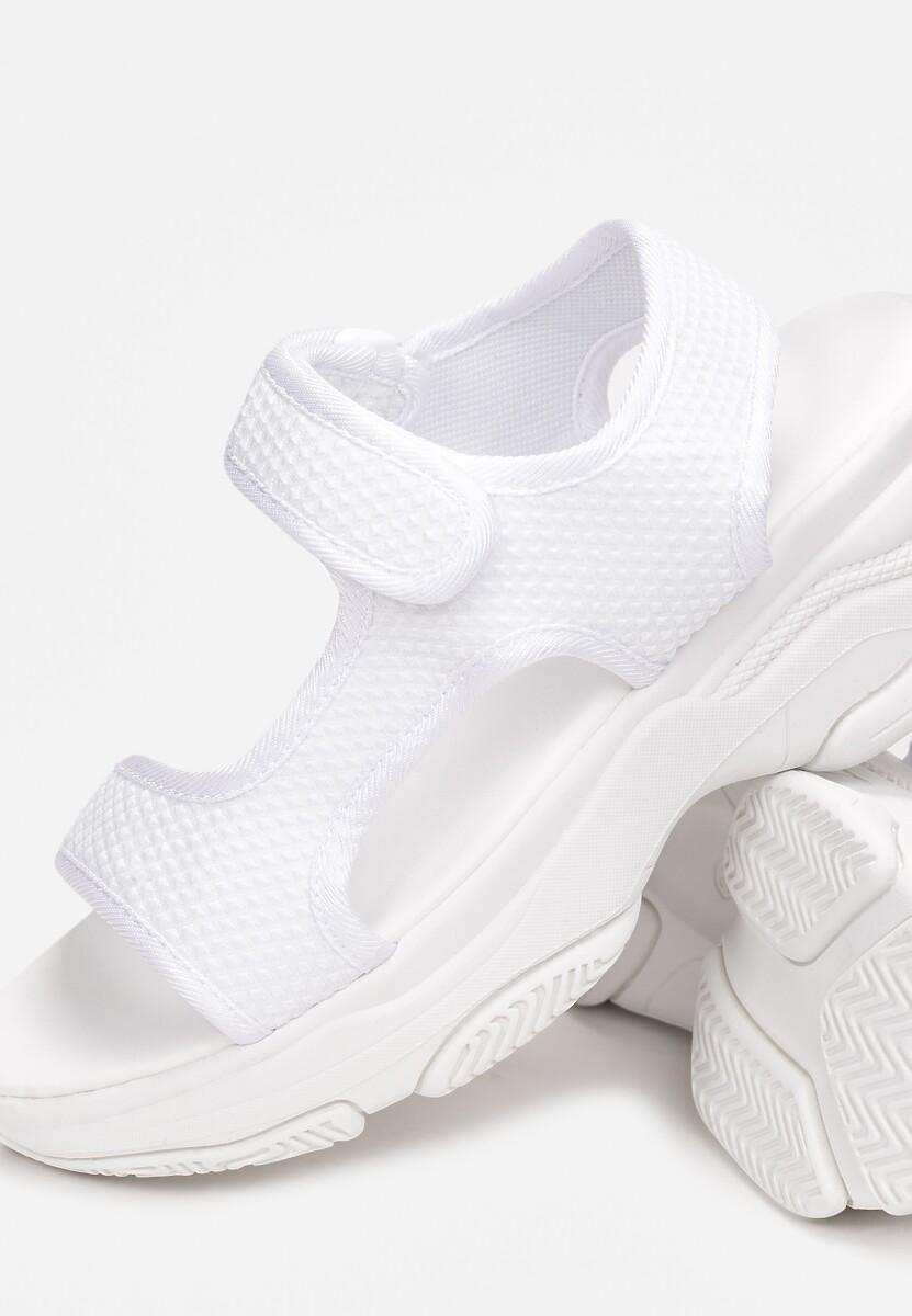 Białe Sandały Castithis
