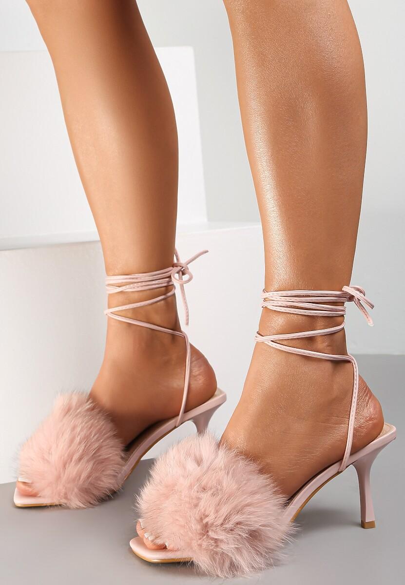 Różowe Sandały Physose