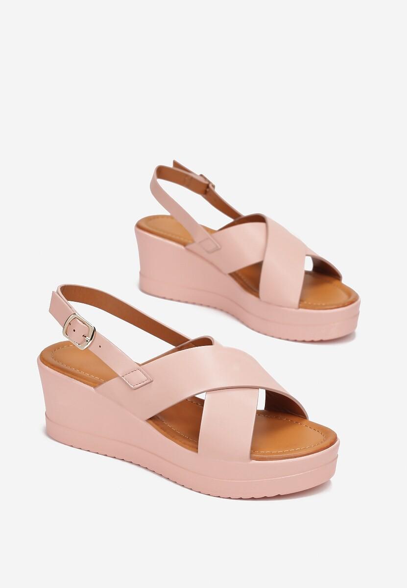 Różowe Sandały Rhethosa