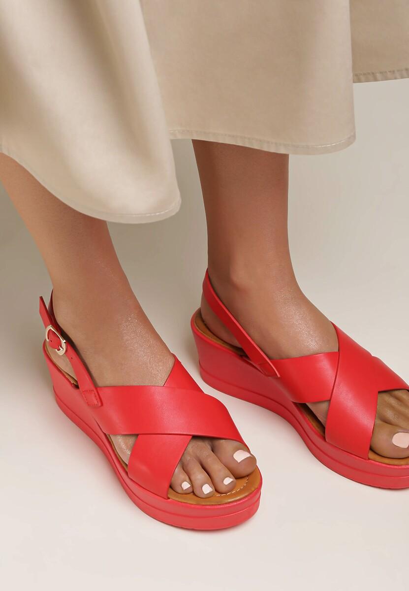 Czerwone Sandały Rhethosa