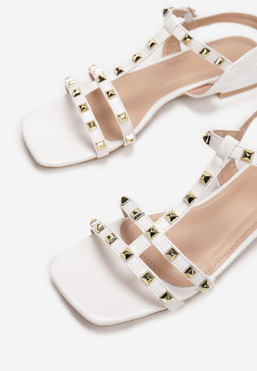 Białe Sandały Phoessei