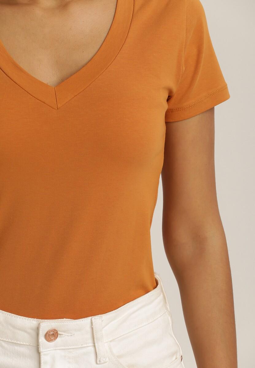 Camelowy T-Shirt Daphnine