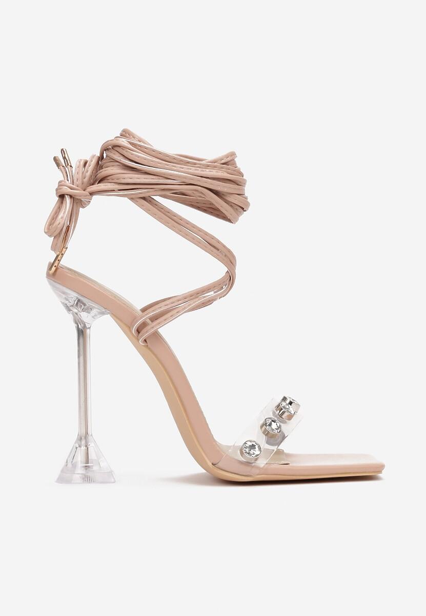 Beżowe Sandały Pixedice