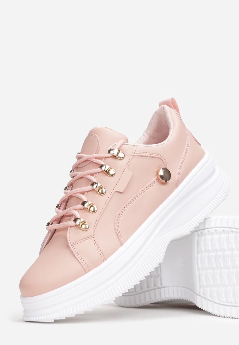 Różowe Sneakersy Gnartiran