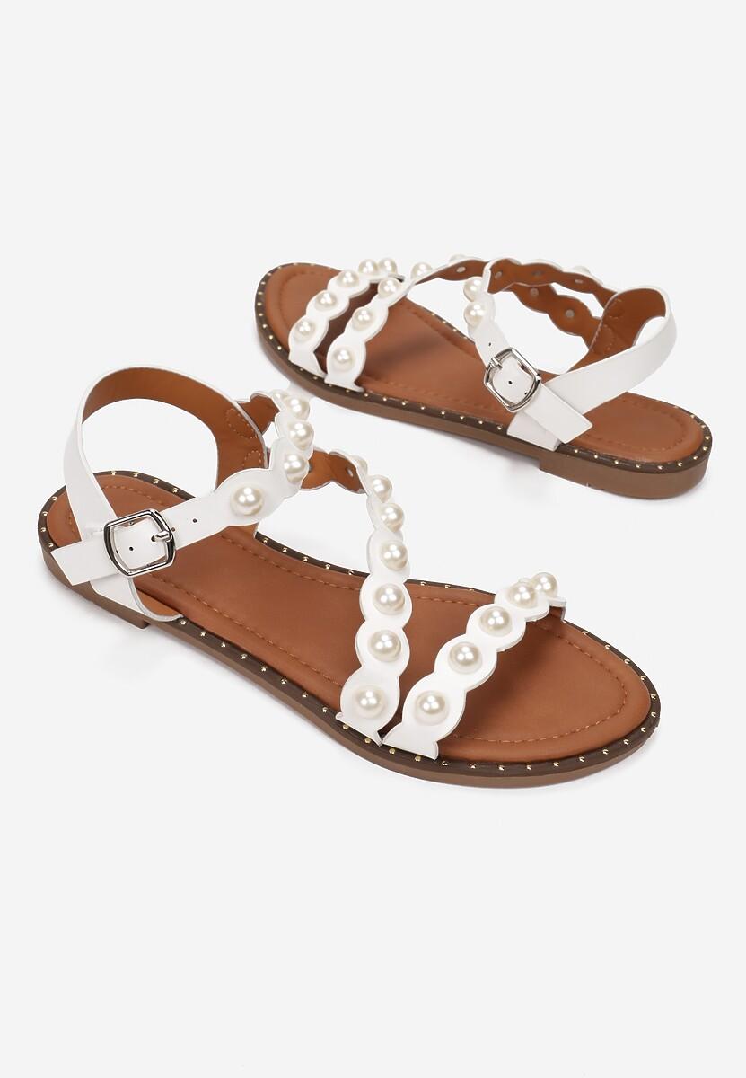 Białe Sandały Sineleia
