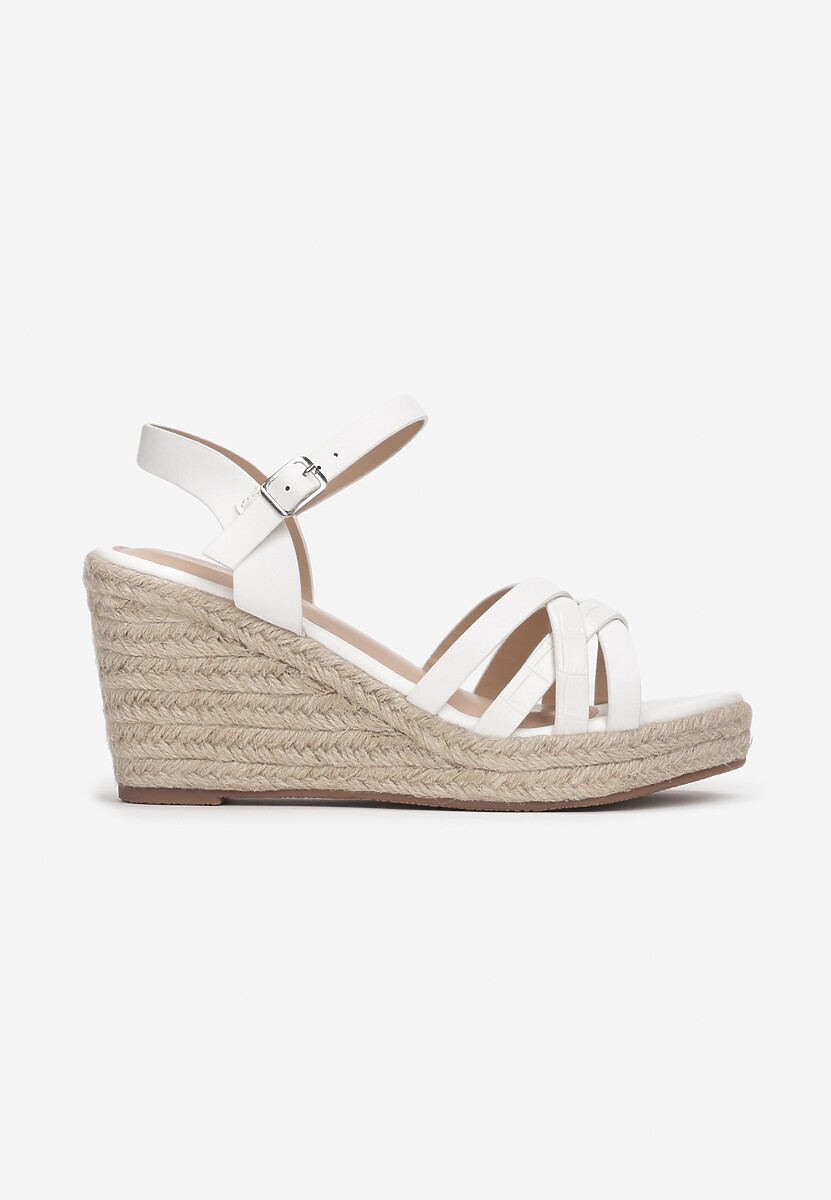 Białe Sandały Acsixa