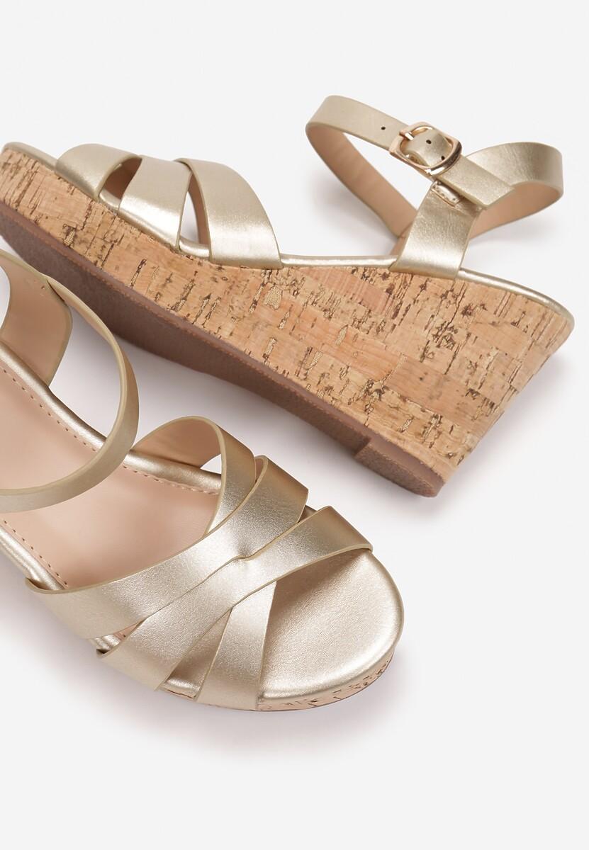 Złote Sandały Sinymes