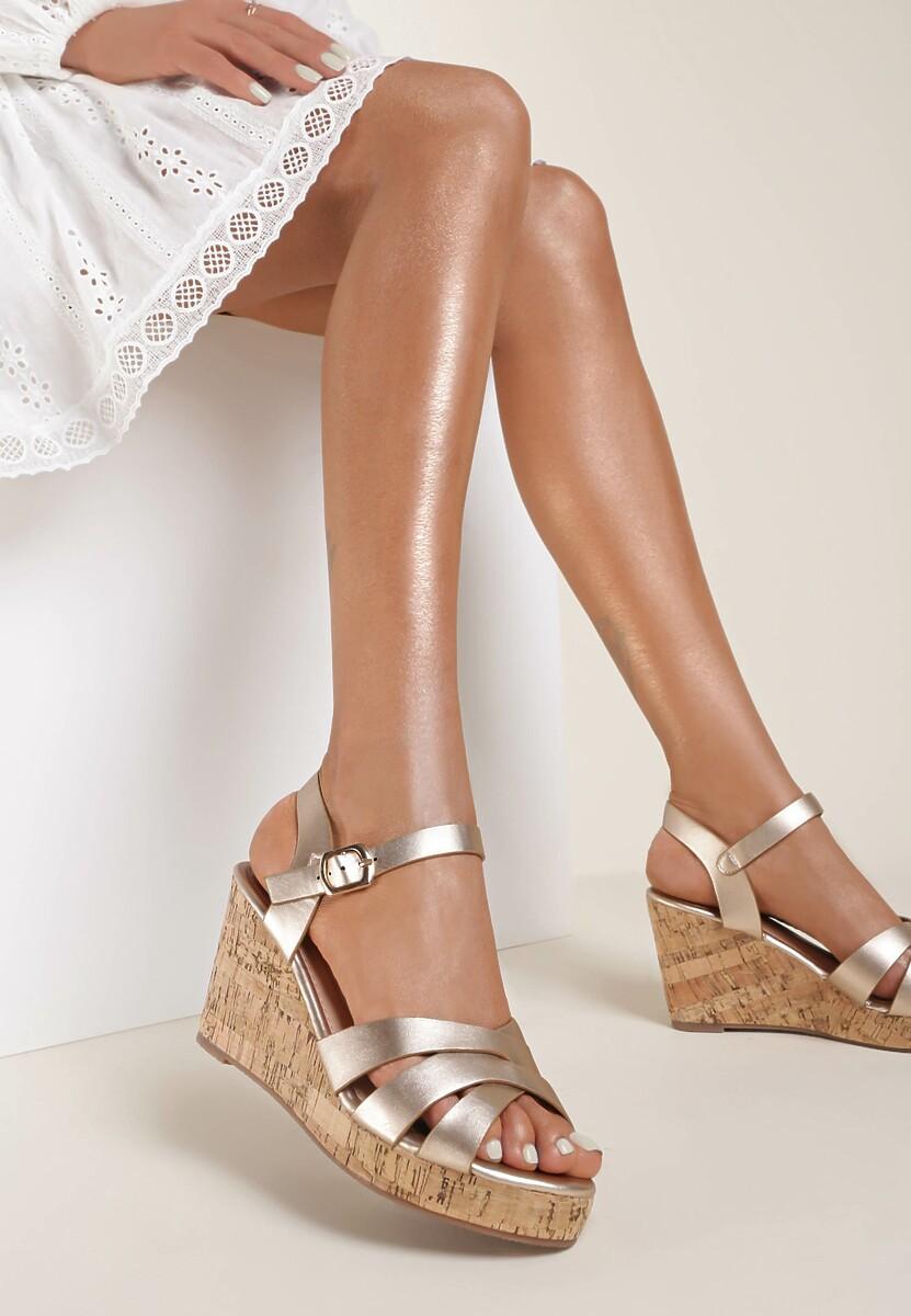 Szampańskie Sandały Sinymes