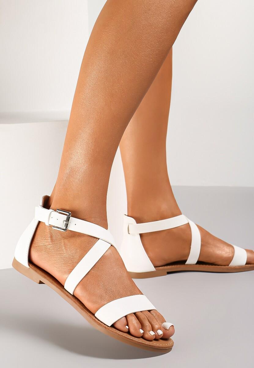 Białe Sandały Neselsa
