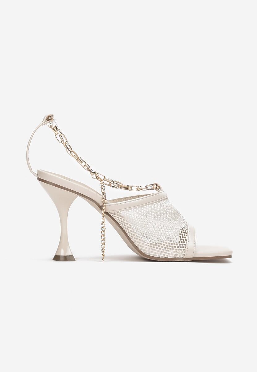 Beżowe Sandały Olithopheu