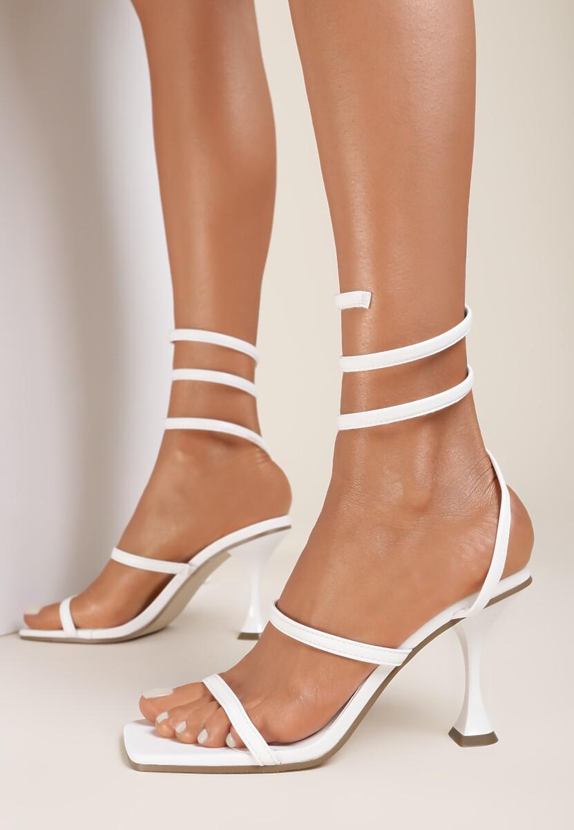 Białe Sandały Iasisa