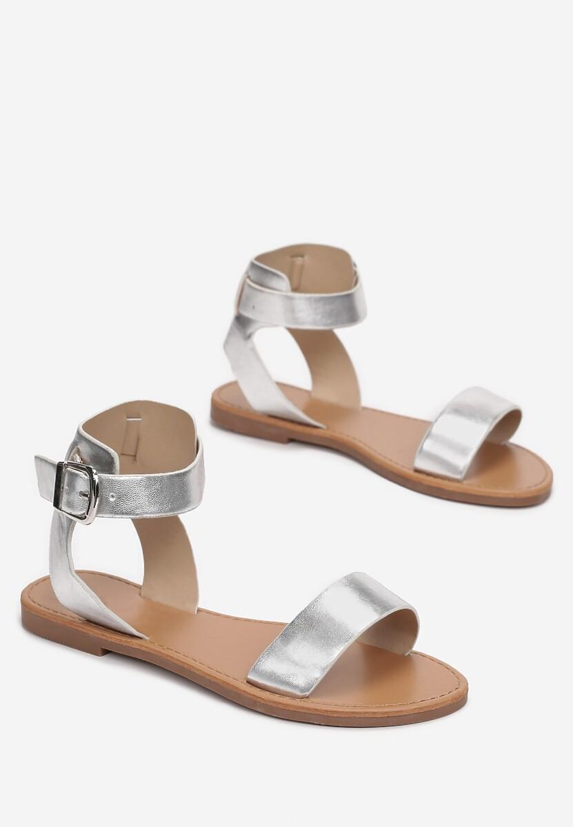 Srebrne Sandały Aethymes