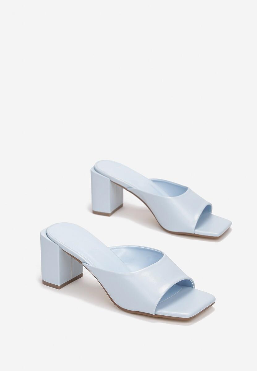 Niebieskie Klapki Phoeshi