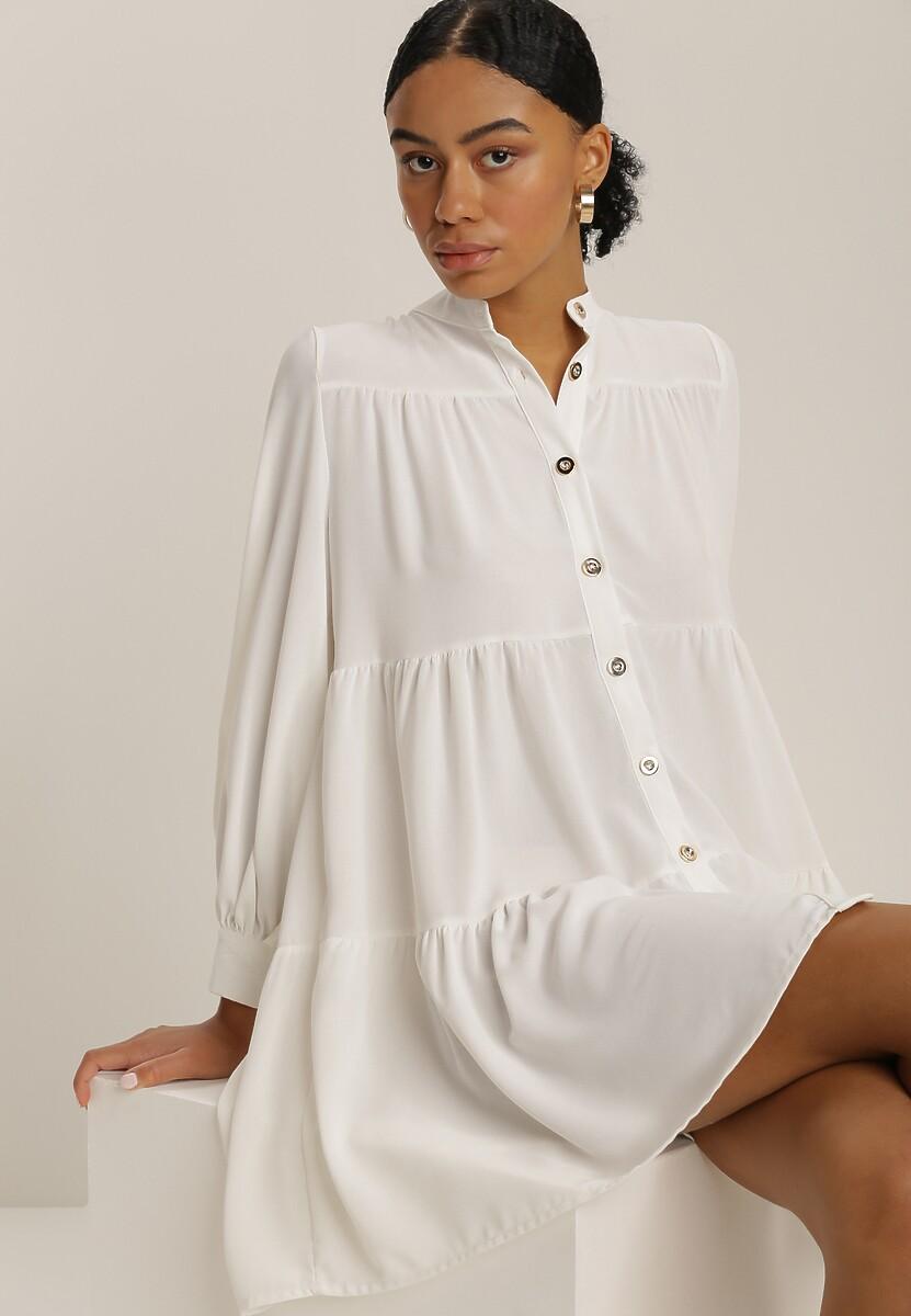 Biała Sukienka Athephila