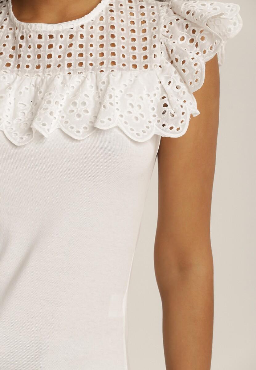 Biała Bluzka Castelia