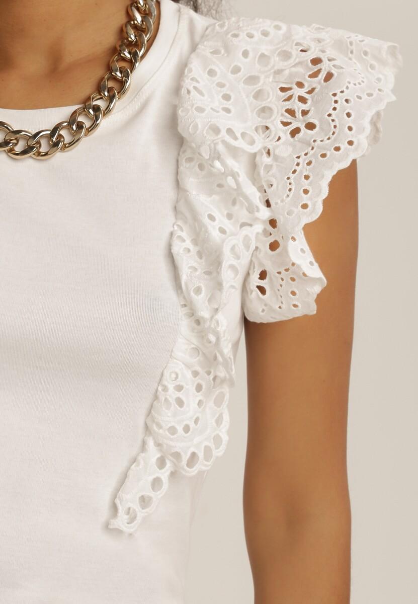 Biała Bluzka Akisacia