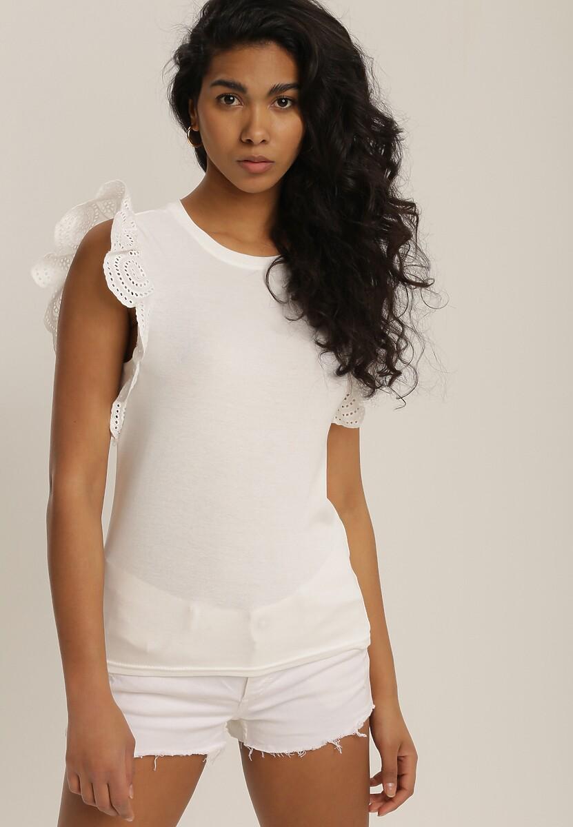 Biała Bluzka Zelelsa