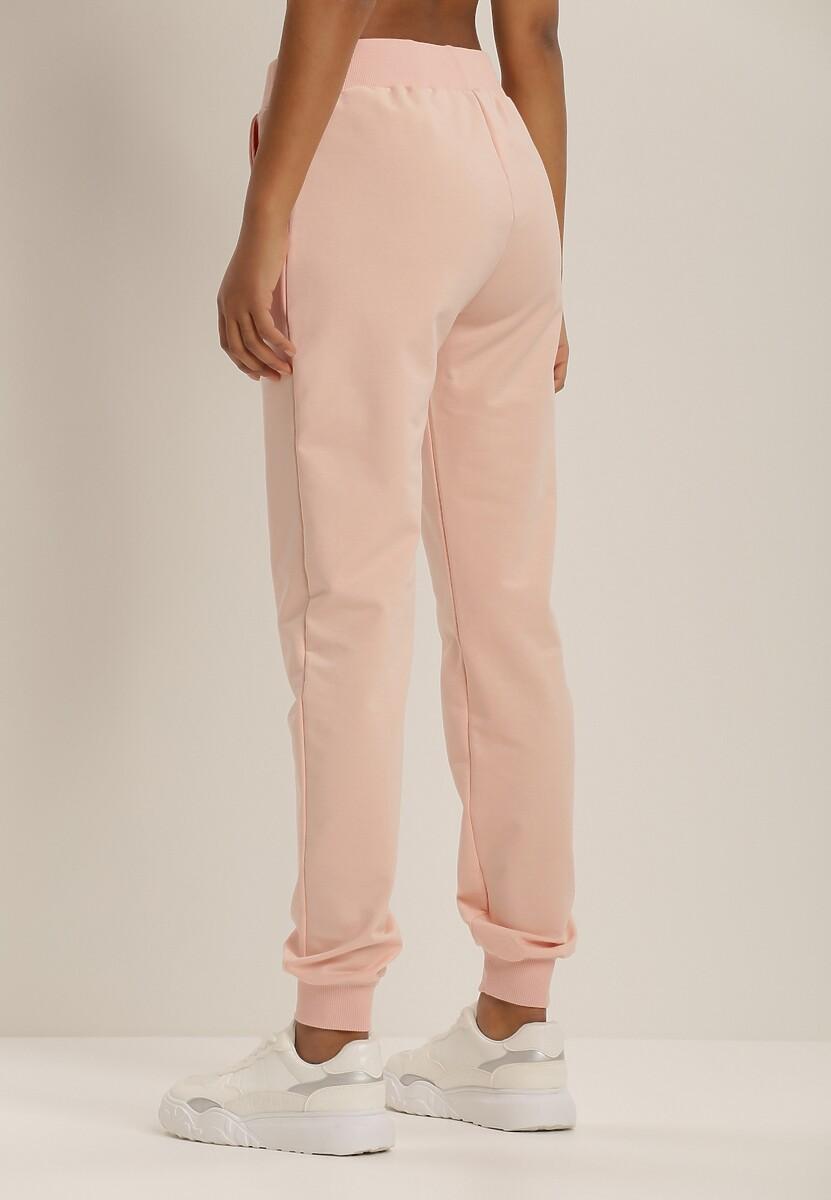 Jasnoróżowe Spodnie Clyniassi