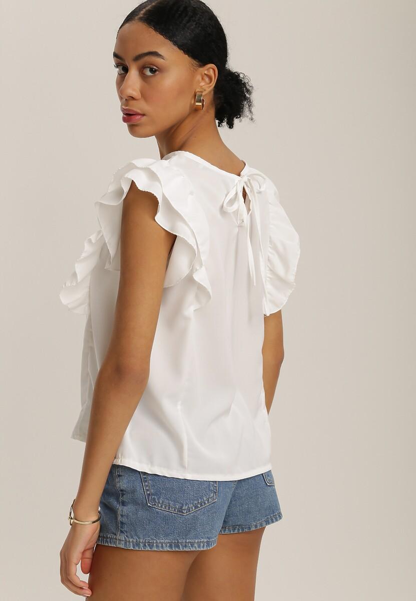 Biała Bluzka Kaisura