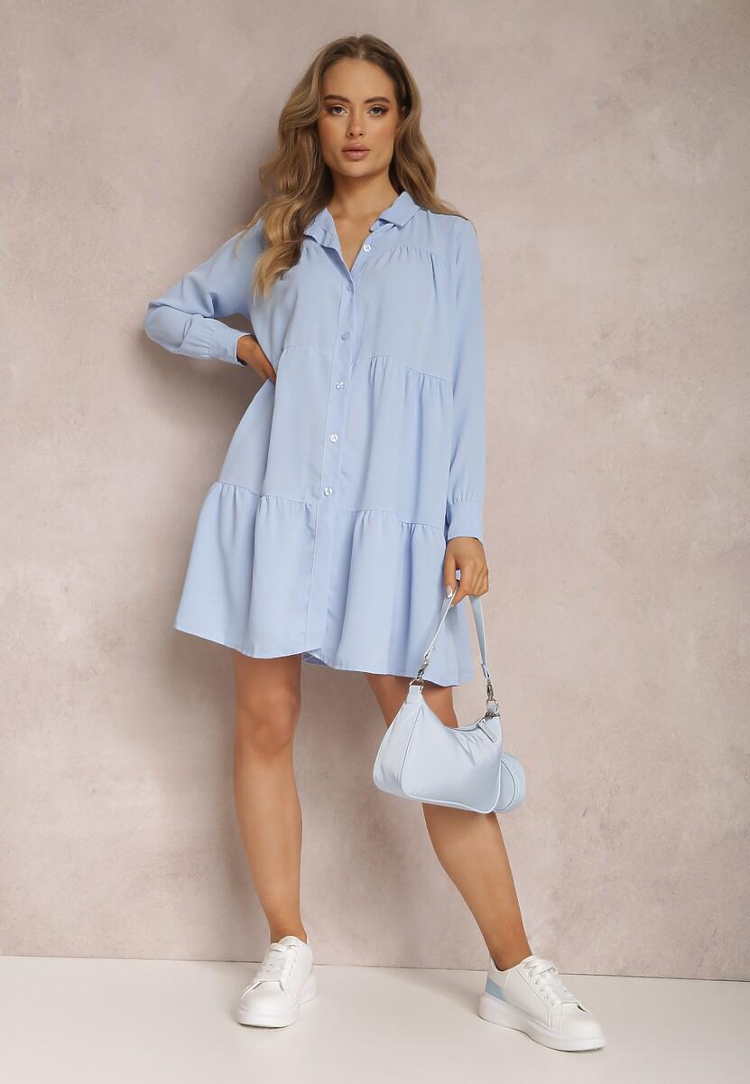 Jasnoniebieska Sukienka Lynnorin