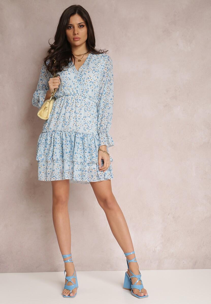 Jasnoniebieska Sukienka Kyrinda