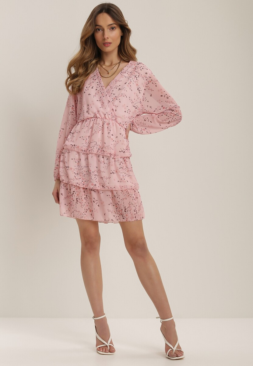 Różowa Sukienka Kallitiax