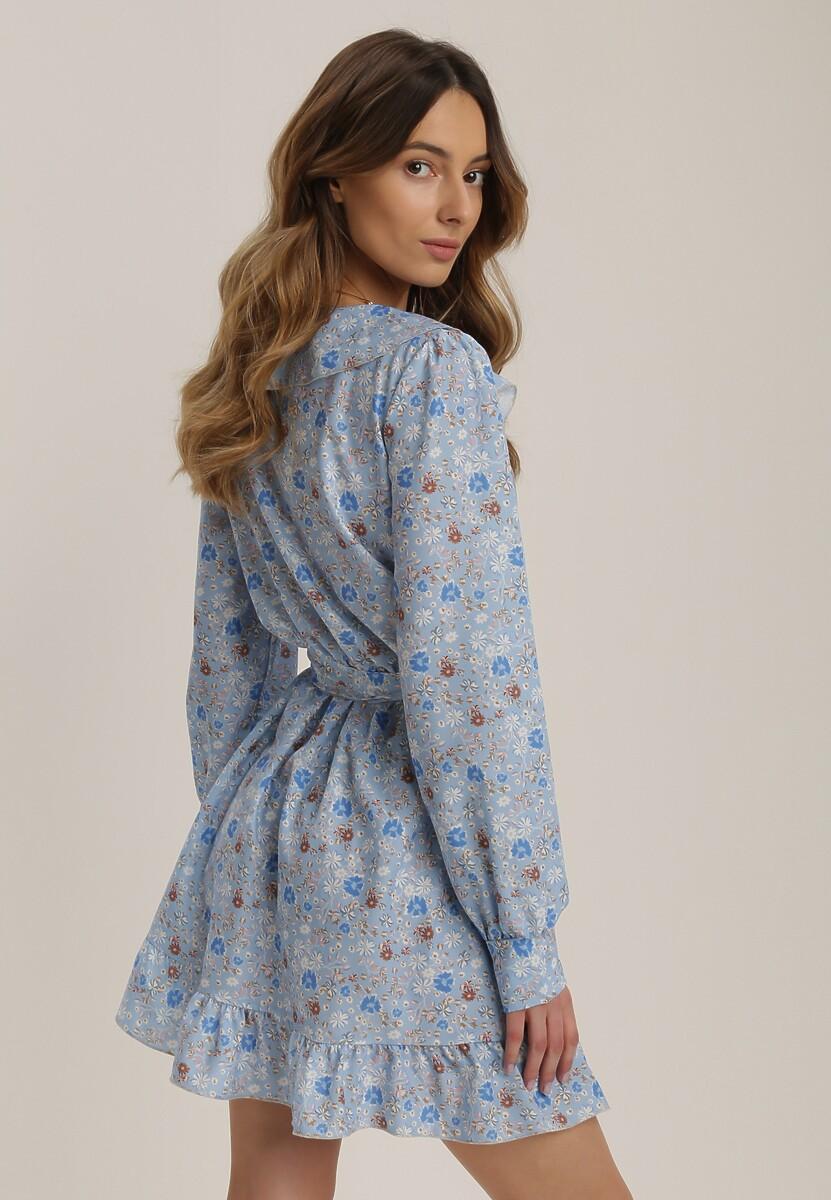 Jasnoniebieska Sukienka Salanise