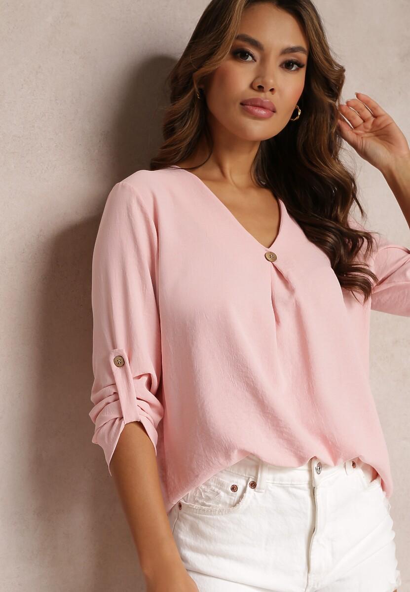 Różowa Bluzka Alanoe