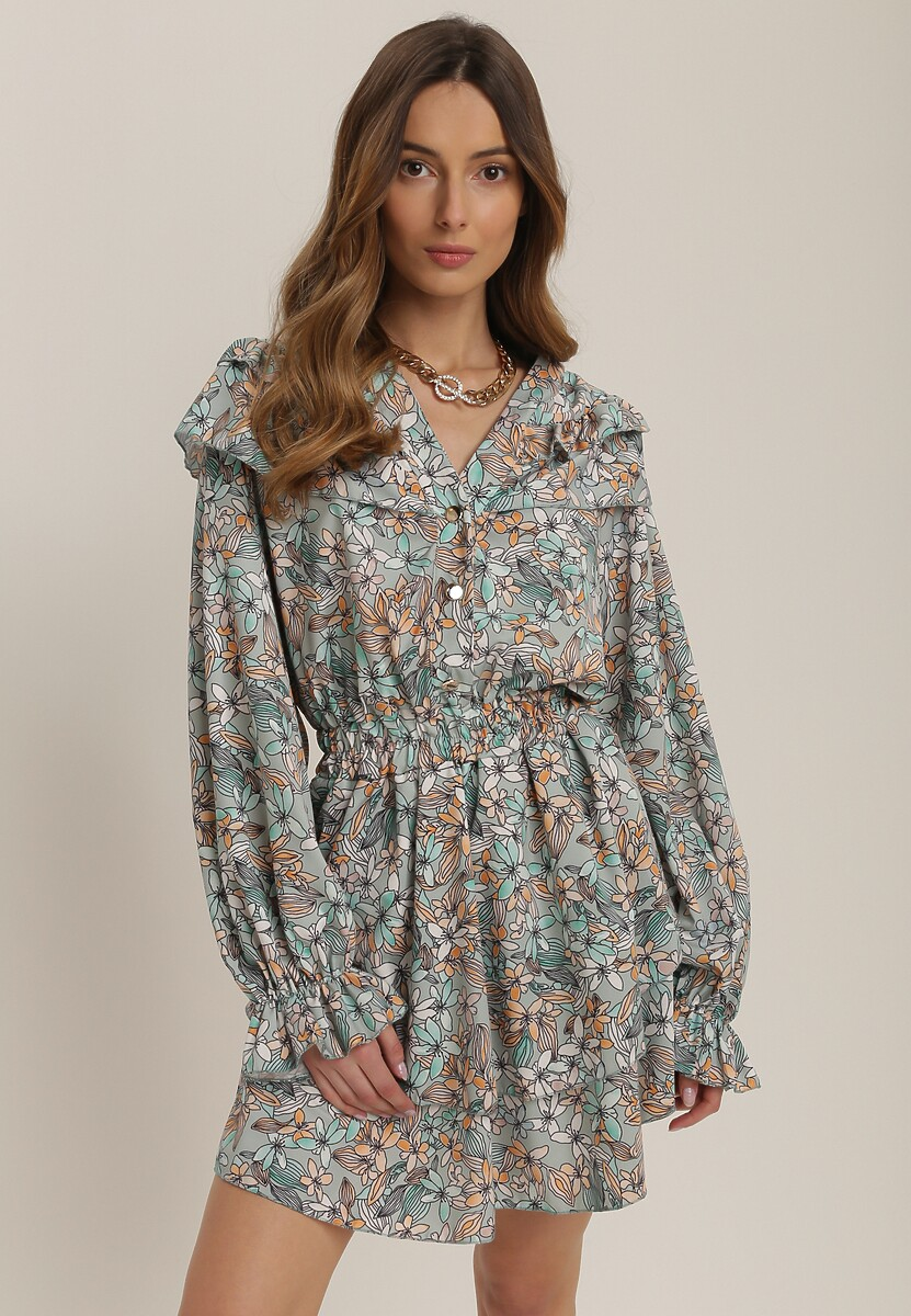 Jasnozielona Sukienka Aqearial